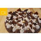 Tarte aux 2 chocolats et sablé breton - Visio