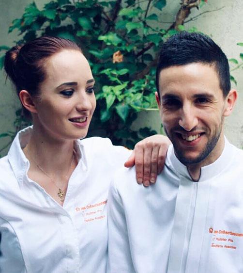 Camille Brouillard et Soufiane Assarrar