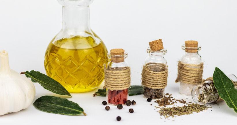 Les huiles, un ingrédient de base en cuisine